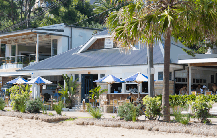 the boathouse Shelly Beach Best Family Friendly Cafes Sydney