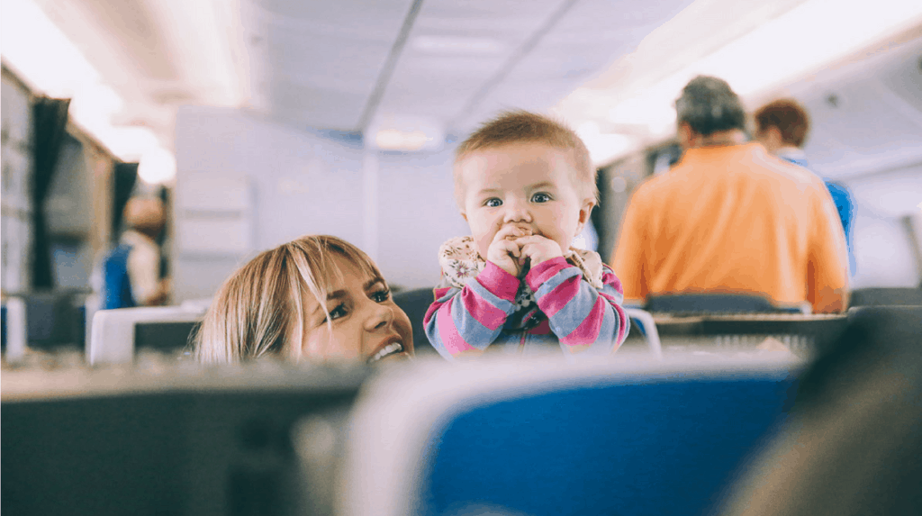 Baby's first flight: 15 sanity saving tips for parents