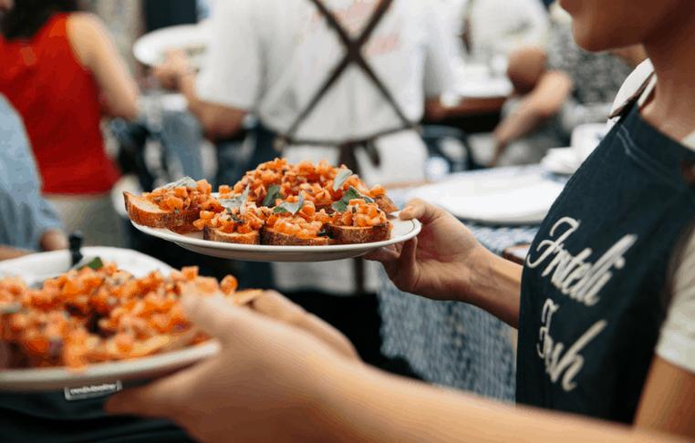 Fratelli Fresh Entertainment Quarter Food