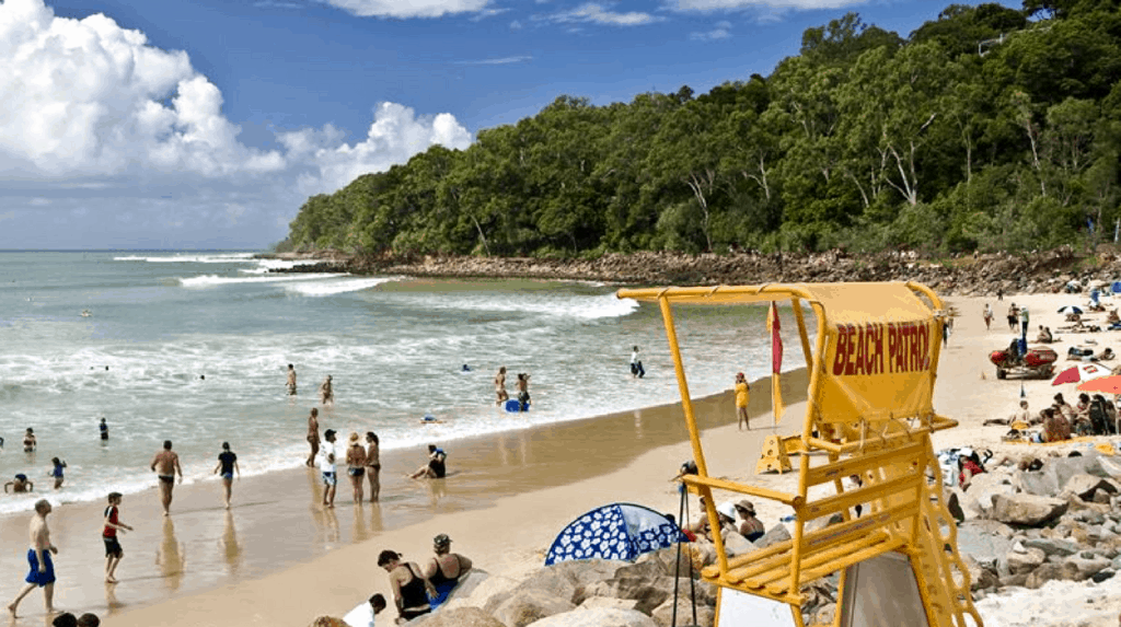 Noosa with kids