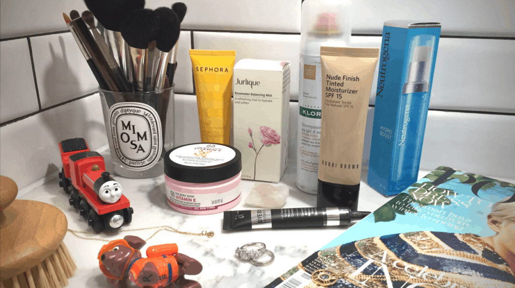 Beauty products for new mums