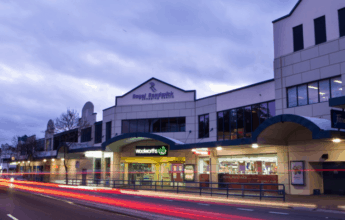 Royal Randwick Shopping Centre Exterior