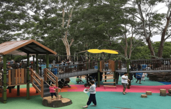 Mindarie Park Inclusive Play Space. Best kids parks in sydney Inner West