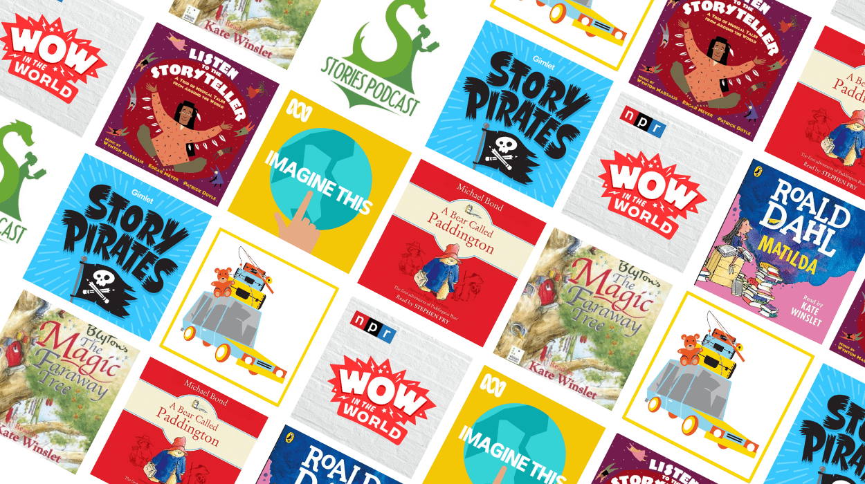 audiobooks and podcasts for kids