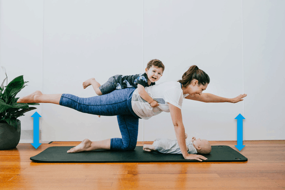 postpartum pilates classes with Laura Mason from Unwind pilates Newcastle