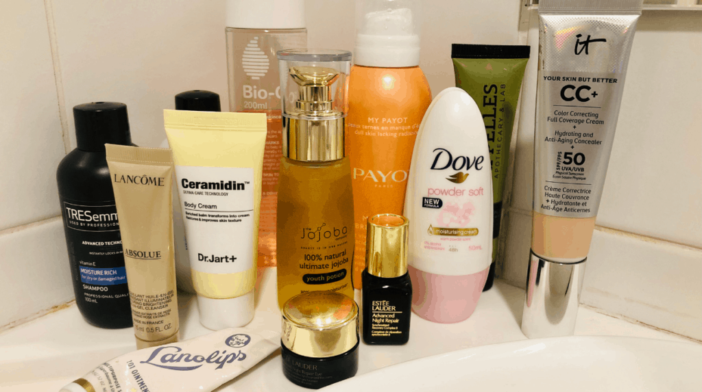 simple beauty products for new mums